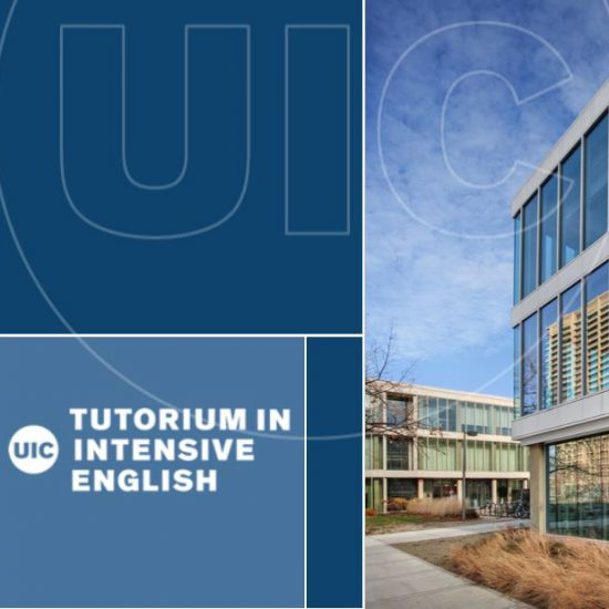 UIC Tutorium in Intensive English logo