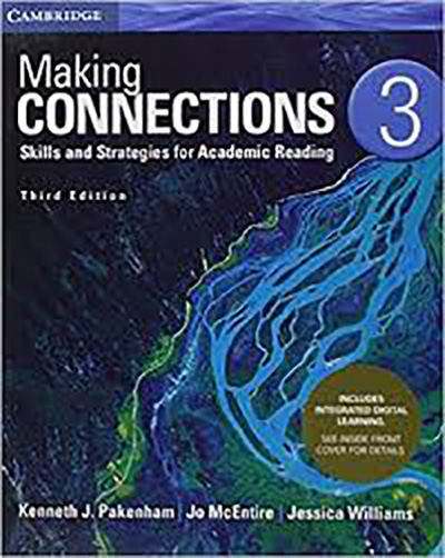 1)Making Connections Level 3 Student Book with Integrated Digital Learning, Third edition