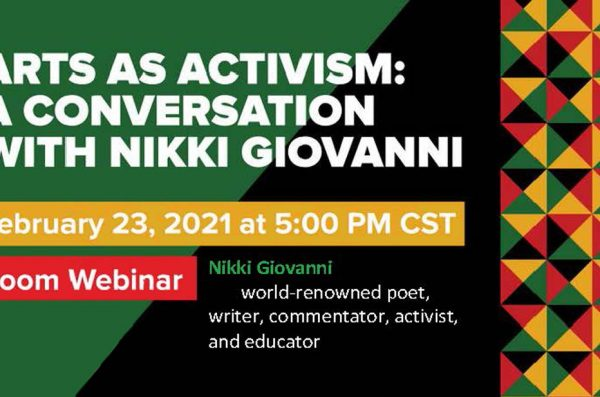 Nikki Givanni zoom webinar February 23, 2021